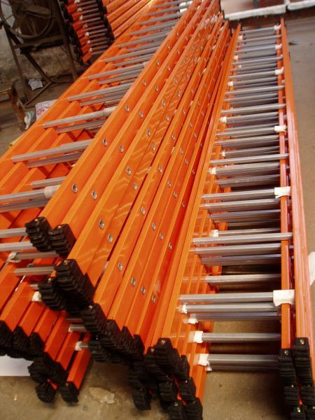 Quality o andaime de aço do metal de 4M parte únicas escadas da seção para o peso leve industrial for sale