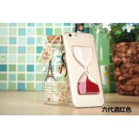 China 2014 New Arrival Case, iPhone 6 Quick Shift Sand Funnel Transparent Plastic Case wholesale