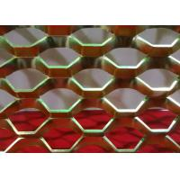 China 1 . 0 mm Thickness Expanded Metal Mesh Aluminum For Decoration wholesale