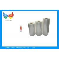 China High Adaptability Stretch Film Wrapping Roll For Soft Beverage Bottle Labelling wholesale