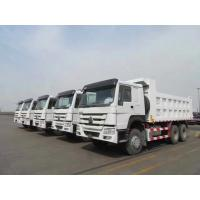 Buy cheap sinotruk 40 ton howo dump truck HC16 hud reduction axle 300L Fuel Tank from wholesalers