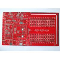 China Red Solder Mask Double Sided PCB Custom PCB Boards Immersion Tin White Silkscreen on sale