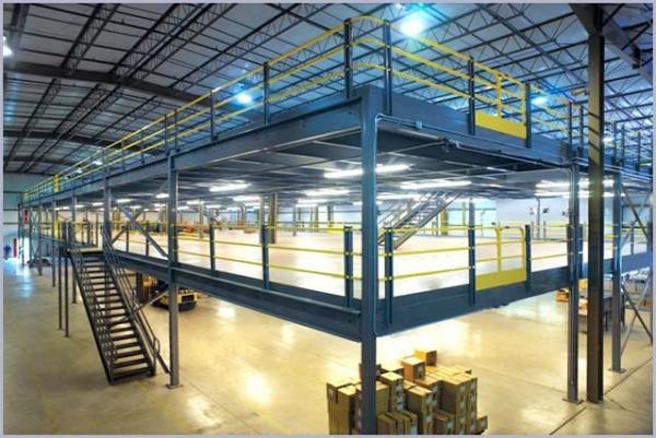Quality El estante llano multi de la plataforma apoyó el entresuelo, piso de entresuelo de la estructura de acero for sale