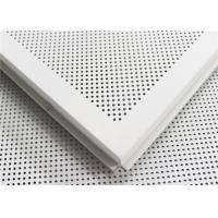 China Customized Anti Corrosion Hanging Ceiling Tiles With Square \ Bevel Edge on sale