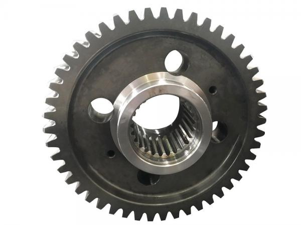 Quality cement mixer big gear,China big spur gear for textile machinery for sale