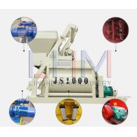 China Double horizontal shaft forced JS1000 Concrete Mixer for HZS50 mixing station and HZS60 mixing station wholesale
