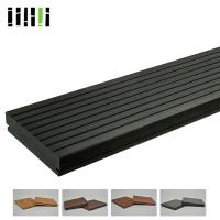 China Commercial Grade Bamboo Laminate Flooring , Outdoor Hardwood Decking Boards on sale