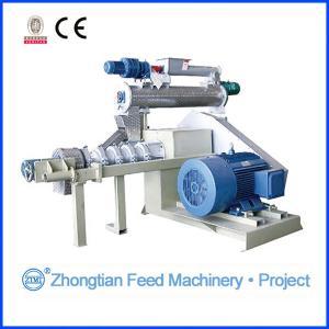 China Customized single screw feed extruder machine , 55kw / 75kw / 132kw SPHG series wholesale