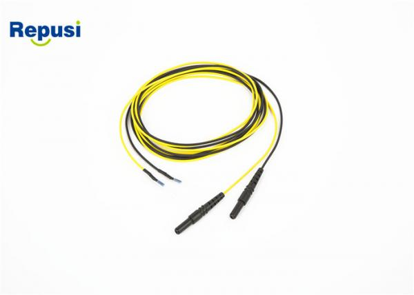 Quality ISO13485 Subdermal Needle Electrodes for IOM single lead 1.5M lead wire for sale