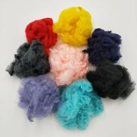 China Man-Made Fibre, Adequate Stock ,Felt Fabric Raw Materials Using Recycled Bottle Flakes, Polyester Staple Fibre(PSF) wholesale