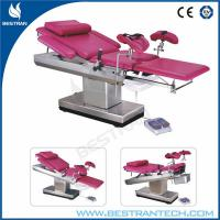 China Carbon Plastic Plate Obstetric Delivery Bed For Gynecological Operation wholesale