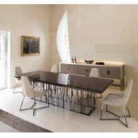 China Modern Marble Rectangular Dining Table For Fast Food / Bar / Cafe / Hotel wholesale