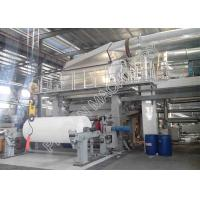 China High Efficiency Small Tissue Paper Making Machine Wood Virgin Pulp Raw Material wholesale