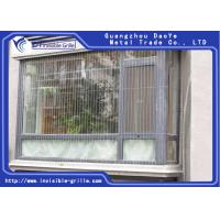 China Anti Rust Durable Window Invisible Grille With No Blocking External View on sale