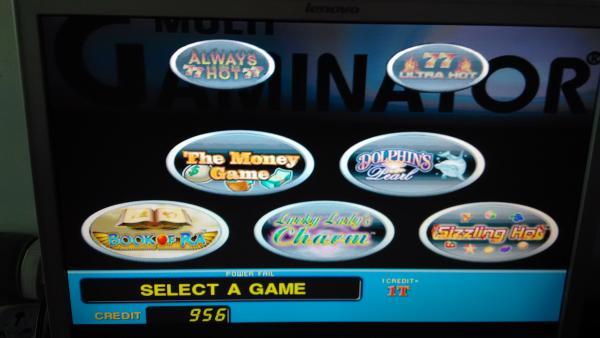casino boards coolair ii version 33 gaminator game board