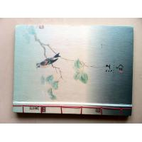 China Silver Stamped Hardcover Book Printing For Menu Book , Thread Bound Book on sale