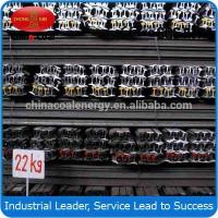 China High quality 22kg/m Q235 steel rail from China,GB wholesale