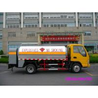1,056 US Gallon 4x2 Euro III Fiscal Refuel Tank Truck , Light Diesel Delivery Truck