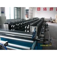 China Seperate Pressing Punching Cable Tray Manufacturing Machine With Servo Guiding wholesale