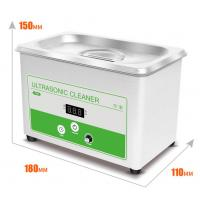 Buy cheap Small Benchtop Ultrasonic Cleaner 0.8L Ultrasonic Bath Cleaner For Lab Digital from wholesalers
