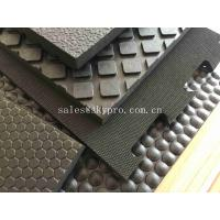 China Interlocking 16mm Cubicle Cow Mattress Nylon Cloth Insertion Non-slip Mat Stall Rubber Floor Mats on sale