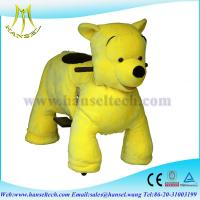 China Hansel 2015 High popularity big battery operated ride animals,stuffed animal riding wholesale