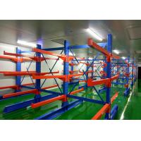 China Multi Level Double Side Metal Heavy Duty Cantilever Racks , Warehouse Racking System on sale