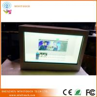 China 32inch transparent lcd display box directly use amazing exhibition wholesale