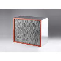Industrial HEPA Air Filter Customized Size 350 Degree Heat Resistance