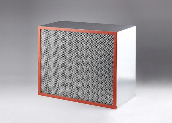 Quality Industrial HEPA Air Filter Customized Size 350 Degree Heat Resistance for sale