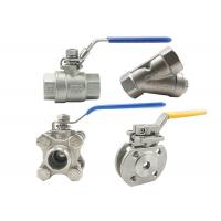 China Cf8 4 Inch Stainless Steel Ball Valve 316 Ss Ball Valve Fire Resistance wholesale
