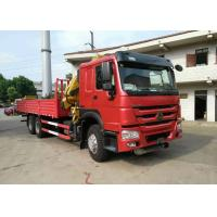 China XCMG 12 Ton Articulated Boom Crane , Lorry-Mounted Crane with Good Quality wholesale