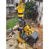 Track Hydraulic Piling Rig For Construction Engineering Ground Foundation