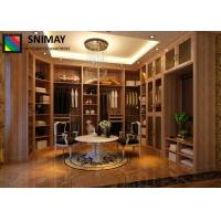 China Walk in Closet Luxury Wooden Bedroom Furniture Sets Wardrobe Storage Systems wholesale