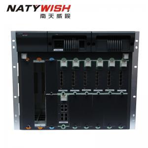 China 64 Port 10G GEPON OLT Optical Line Terminal Space Saving Low Power Consumption wholesale