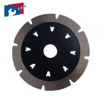 China V Shape Segmented Turbo Diamond Blade For Cutting Marble Granite Concrete wholesale