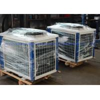 China Commercial Scroll Air Cooled Condensing Unit Danfoss R404a / R22 on sale