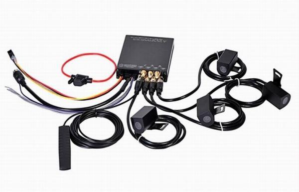 Quality 3G GPRS GPS 1080P full HD WiFi Car DVR Mini Mobile DVR 4CH H.264 128GB SD Card for sale