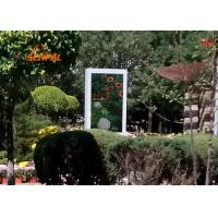 High Brightness Outdoor LCD Digital Signage Displays 3G 4G WiFi Connection