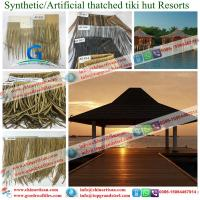 Brand new synthetic thatch seller with low price fibre thatch / synthetic thatch / artificial thatch