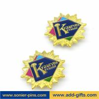 Quality ADDGIFTS custom magnet lapel pins golden pins with enamel iron pins for sale