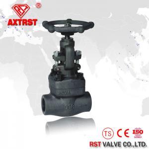 API 602 Class 150LB- 800LB Forged Steel Threaded Globe Valve A105 NPT / SW / BW
