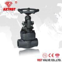 China API 602 Class 150LB- 800LB Forged Steel Threaded Globe Valve A105 NPT / SW / BW wholesale