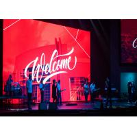 Buy cheap small pixel led display P2.6 rental led indoor display panel hire led video wall from wholesalers