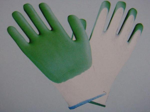 Quality 13g Polyester Shell, Pvc Coated Gloves for sale