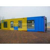 colorful container house ,store,shop.steel