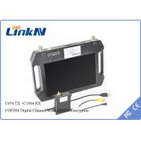 Buy cheap HDMI/AV Long Range Video Wireless Transmitter COFDM transmitter  For UAV/UAS from wholesalers