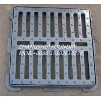 China cast iron gully gratings and frame EN124 B125 on sale