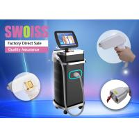 China 600W Laser Depilation Machine , Laser Shaving Machine With Touch Cooling System on sale