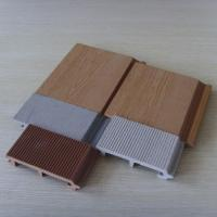 China Outdoor Wood Plastic Composite Decking Flooring WPC Wall Panel wholesale